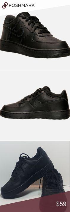 6362b3632af ☆Brand New Nike Air Force 1 Black 2.5Y youth kids☆ Brand new Nike