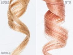 ROSE GOLD with oVertone! This is what I've been trying to do all along!