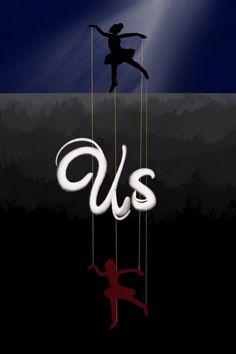 Spoilery movie poster for Us(2019) ! Credit : u/eeltap
