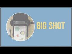 The Sizzix Big Shot for Stampin' Up! - YouTube