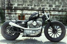 RE-PIN THIS!    Harley-Davidson Sportster bobber