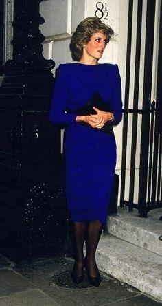 1985-05-15 Diana attends a Reception at Skinners' Hall in London to celebrate the 7th anniversary of the London City Ballet