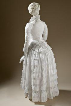 Dress c.1885 LACMA