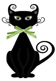 Cute Cat 12 Mini Notecards Tabby Noir Blanc Chats vide à l/'intérieur