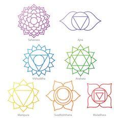 Arte Chakra, Chakra Art, Chakra Healing, 7 Chakras, Spiritual Meditation, Chakra Meditation, Meditation Symbols, Girl Back Tattoos, Lower Back Tattoos