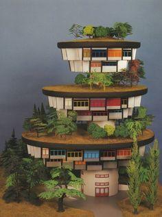 Hundertwasser Architecture Models  http://blog.iso50.com/3484/hundertwasser-architecture-models/