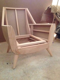 My style chair - wood furniture Timber Furniture, Wood Sofa, Deco Furniture, Woodworking Furniture, Furniture Projects, Furniture Design, Handmade Wood Furniture, Living Room Upholstery, Living Room Sofa Design