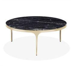 Camilla Nero Storm Cocktail Table design by Interlude Home