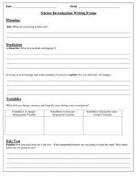 Image Result For Template For Science Experiment Write Up Science