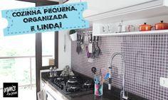 Rafaela Oliveira mostra várias dicas bacanas para organizar uma cozinha pequena e deixa-la linda! No vídeo, além das dicas de organização e aproveitamento de espaços, ensina como fazer organizadores gastando pouco! Vem ver!