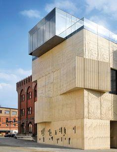 Tchoban Foundation Museum for Architectural Drawing  Berlin Speech Tchoban & Kuznetsov,