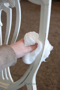 How to Paint a Chair with Chalk Paint® decorative paint by Annie Sloan | By The Creative Mom
