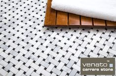 Make this simple if you want the white base of Calacatta but no the price then our Trademarked exclusive line of Carrara Venato Basketweave is for you $10.95 a Square Foot and Free Shipping. It does not get prettier that this.  I love how white it is.