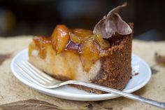 Vegan apple pie cheesecake.