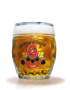 Žatec export 12° Pint Glass, Beer, Mugs, Tableware, Root Beer, Ale, Dinnerware, Beer Glassware, Tumblers