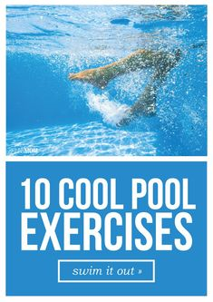 You've got to try this awesome pool workout! Water Workouts, Water Aerobic Exercises, Swimming Workouts, Pool Workout, Swimming Fitness, Workout Tips, Water Aerobics Routine, Water Aerobics Workout, Burn Calories