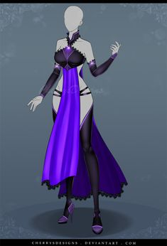 (closed) Auction Adopt - Outfit 593 by CherrysDesigns