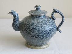 Steve Harrison salt glazed teapot