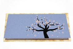 Cherry Blossom Tree Free Greeting Card by AeshnidaeAesthetics, $4.44