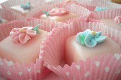I love petit fours!    Petit Fours by such pretty things, via Flickr