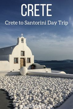 Crete to Santorini day trip - Crete Travel Guide to plan your Crete to Santorini day trips (ferry, tour, options, group or self-organized, things to see) – Photos + Practical tips Europe Travel Tips, Places To Travel, Travel Guide, Travel Destinations, Greece Destinations, Greece Vacation, Greece Travel, Santorini Travel, Crete Greece
