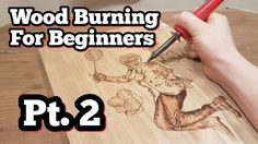 (The Basics) Pt 2 How To Wood Burn - YouTube