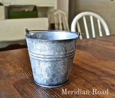 Meridian Road: Aging and Darkening Galvanized Metal