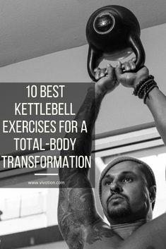 Best Kettlebell Exercises, Full Body Kettlebell Workout, Kettlebell Circuit, Kettlebell Training, Weight Training Workouts, Gym Workouts, At Home Workouts, Kettlebell Challenge, Fitness Before After