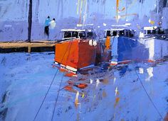 Pastel paintings--by Tony Allain... beautiful