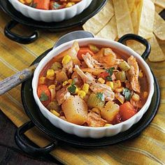 Spicy Chicken Stew Recipe | MyRecipes.com