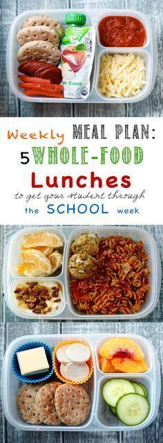 Meal Plan: School Lunch Edition Weekly Meal Plan: School Lunch Edition - Planning lunches is monotonous and time consuming. This will help!Weekly Meal Plan: School Lunch Edition - Planning lunches is monotonous and time consuming. This will help! Lunch Snacks, Clean Eating Snacks, Lunch Recipes, Baby Food Recipes, Whole Food Recipes, Healthy Recipes, Work Lunches, Kid Snacks, Detox Recipes