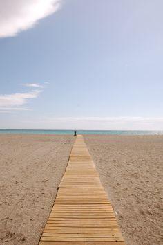 #Peaceful Beach, Malaga Spain #Spain  #holiday #travel  #vacation #España