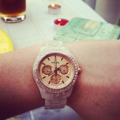 I love fossil watches