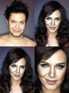 Pin for Later: He Did It Again! A Man Transforms Into Caitlyn Jenner With Makeup Katie Holmes