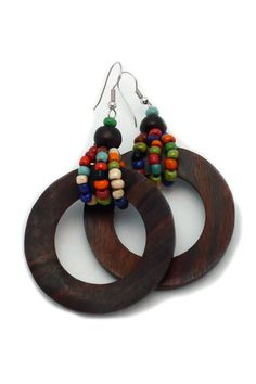 Such a neat idea for using ring beads! Browse our ring beads here: http://www.happymangobeads.com/search.aspx?find=ring