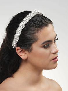 BB-675 Tiara de Luxe – In White Shop Swarovski, Tiara Hairstyles, White Shop, Band, Hair Styles, Accessories, Shopping, Fashion, Ivory