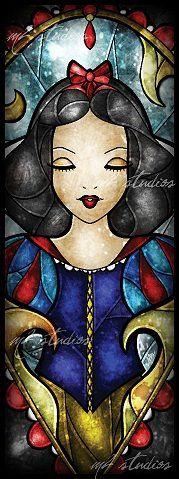 Mandie Manzano Snow White