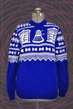 "Norwegian-Style Doctor Who Sweater | 21 Pieces Of ""Doctor Who"" Swag You Didn't Know You Needed"