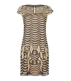 Temperley London Wave Embroidery Dress
