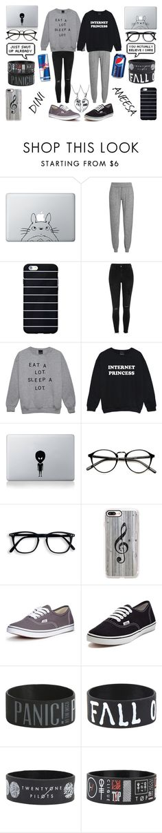 """""""SQUAD"""" by dini-28603 ❤ liked on Polyvore featuring Humör, Sweaty Betty, River Island, Vinyl Revolution, Casetify, Vans and Bling Jewelry"""