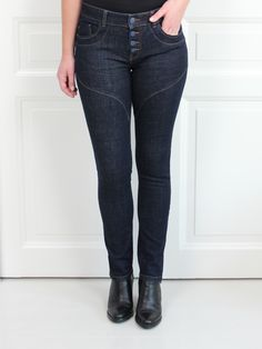 Roma Jeans Unwashed - Isay casaoliv.se