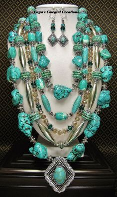 Image result for cowgirl turquoise jewelry