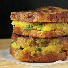 Samosa French Toasts.   Vegan Richa