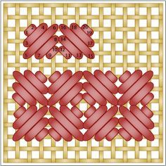 bargello embroidery stitches - Google Search