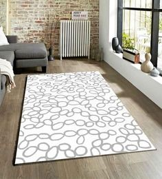 Sofiabrands Geometrical Royal White Hand Tufted Rugs
