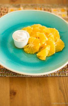 Laranjas Marinadas com Gengibre • Ginger Marinated Oranges