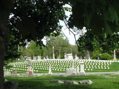 Crown Hill National Cemetery - Indianapolis, Indiana