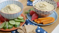 Hoummos | Cuisine futée, parents pressés Quebec, Great Recipes, Vegan Recipes, Healthy Snacks, Healthy Eating, Cold Meals, Everyday Food, Finger Foods, Hummus