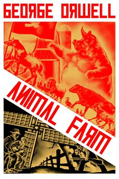 The book about animals that rebel against the farmers. Read by the English II class