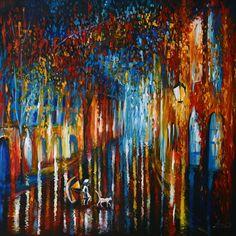 Obraz nowoczesny na płótnie do salonu kolorowy  - AgataiMartyna - Obrazy akrylowe